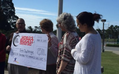 """Twin Lakes Church Donates Proceeds of """"World's Biggest Garage Sale"""" to Freedom Women's Center"""