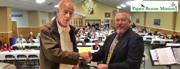 County Supervisor Greg Caput Donate's $6,000 to Emergency Shelter